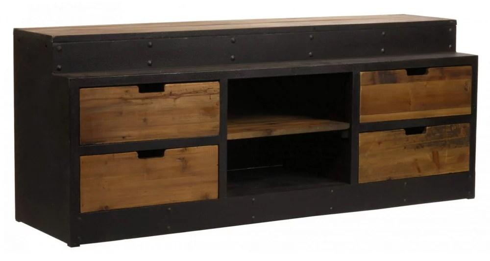meuble tv industriel wisconsin