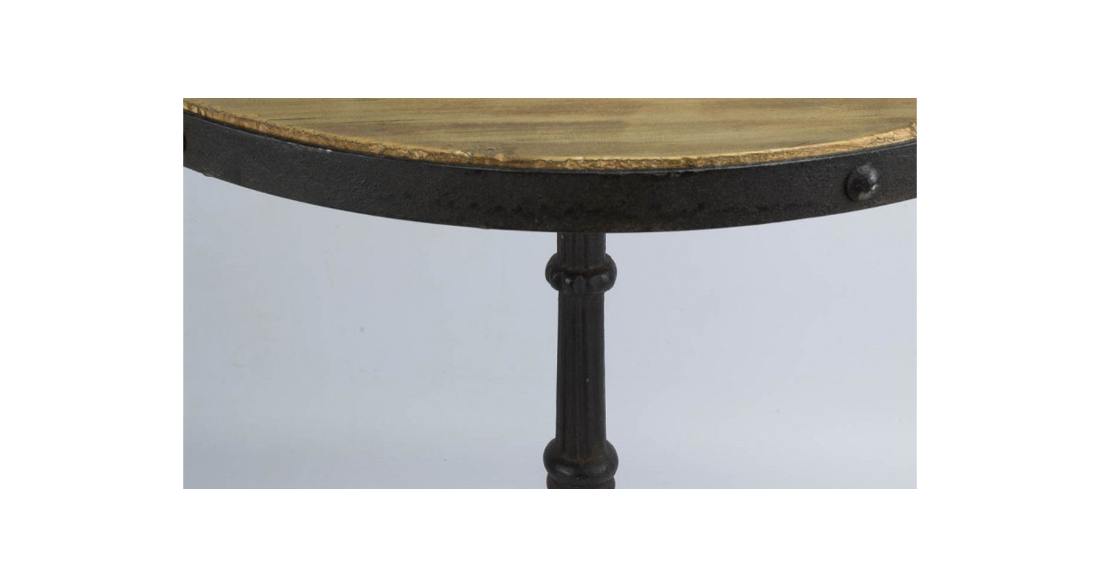 table de bar ronde type bistrot brackley