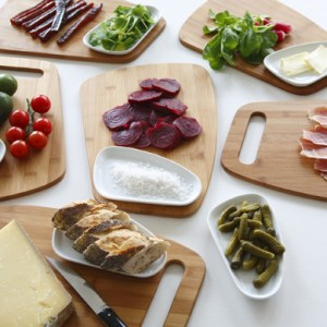 Assiette design : L'assiette-planche tapas by Emmanuel GALLINA