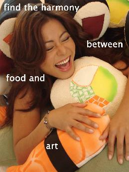 The original sushi pillow