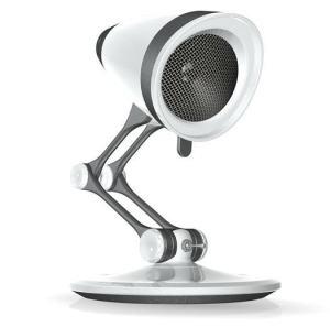 Voici non pas un mais deux objet pour agrémenter votre espace de travail : la caméra Web Iris et le haut-parleur Vibe. Cette caméra et ce haut parleur son