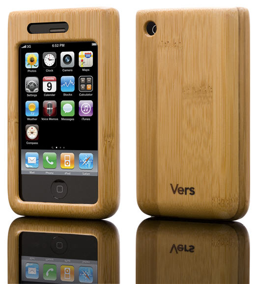 Shellcase boîtier bambou iPhone
