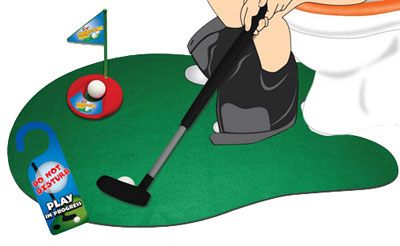 Le mini golf pour toilettes Party & Fun
