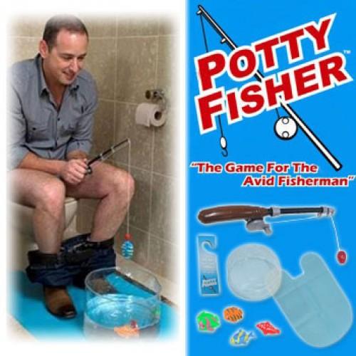 Accessoires déco pour les toilettes la pêche pour toilettes