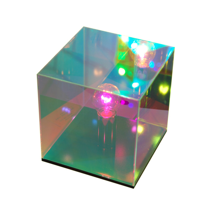 Cube miroir lampe astrale