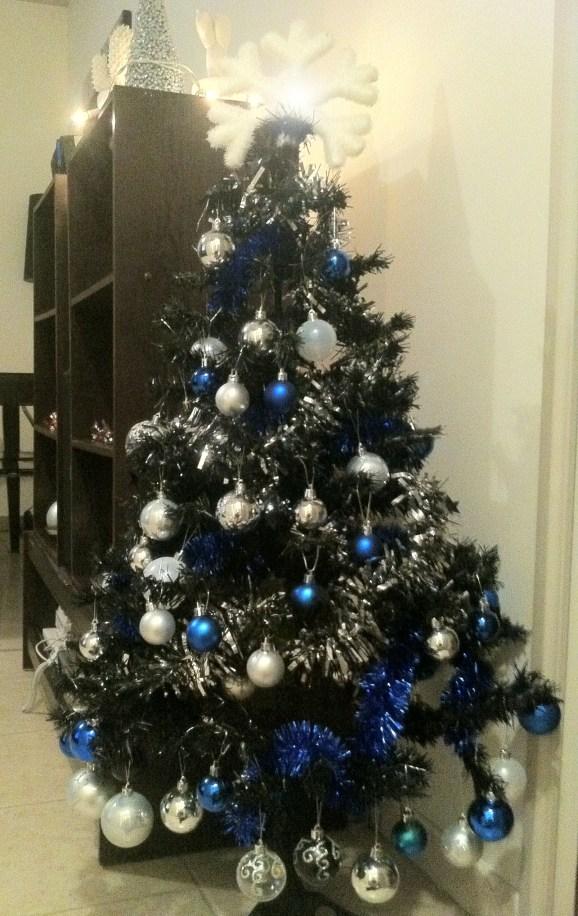 Cette année Noel sera bleu et argent