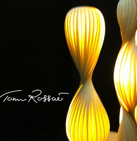 TR14 lampe en bois Tom Rossau