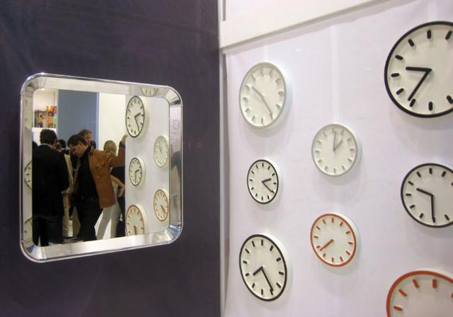 Horloges design :Tempo byNaoto Fukasawa