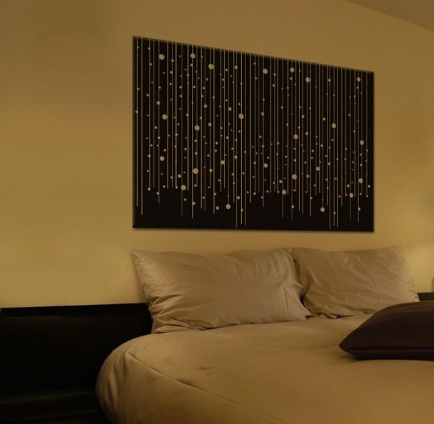 Un tableau LED original et discret 1
