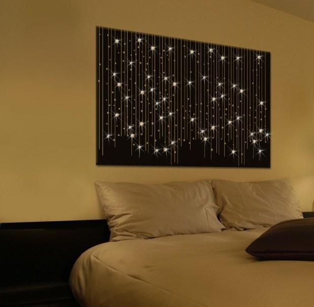 Un tableau LED original et discret