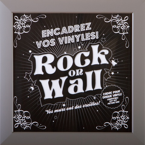 cadre Rock on Wall
