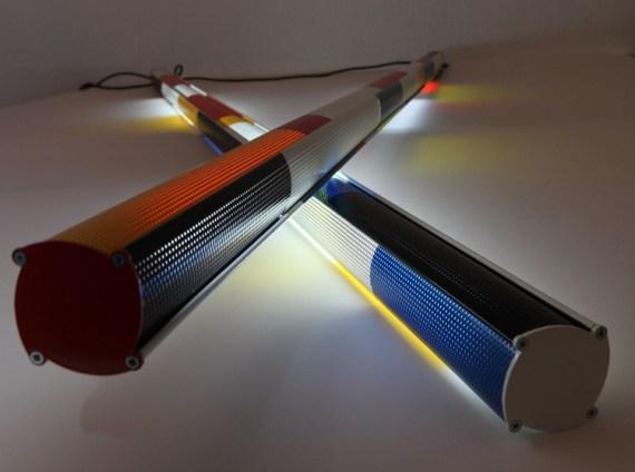 Guillaume Crouzier présente le lampadaire design Hommage