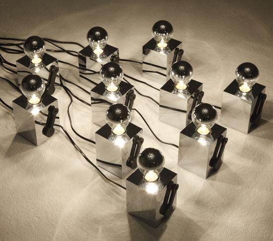 The Switch lampe minimaliste Richard Hutten