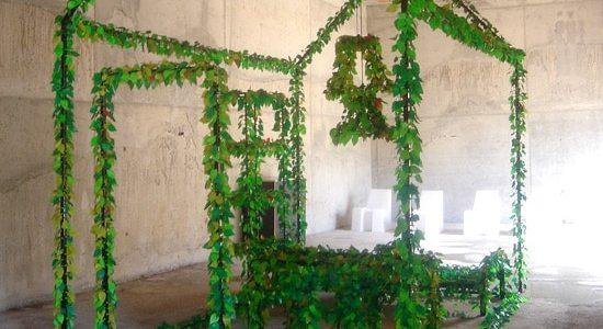 Green Leaves magnets feuilles Richard Hutten