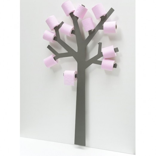 arbre porte papier wc d co design blog deco tendency. Black Bedroom Furniture Sets. Home Design Ideas
