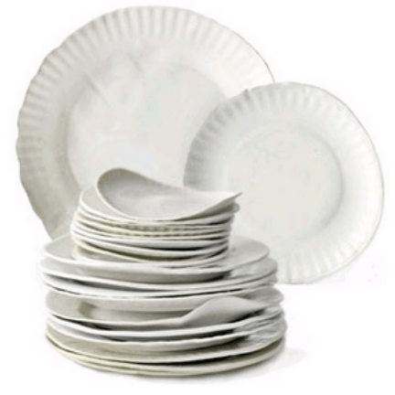 Paper Plates by Virginia Sin