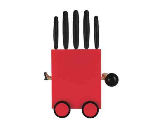 Porte couteaux : le bloc à couteaux Magic Boxby e-my