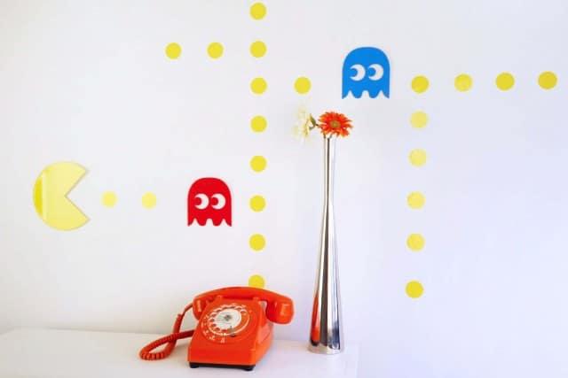Stickers originaux :Pac-Home, les stickers Pac Man