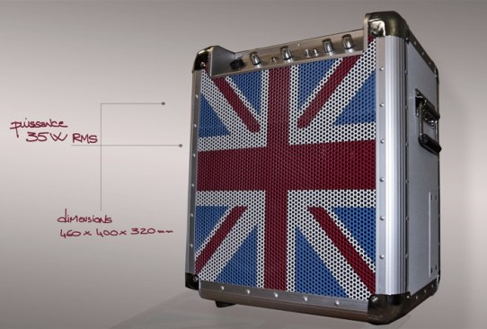 Ze-Soundbox Union Jack