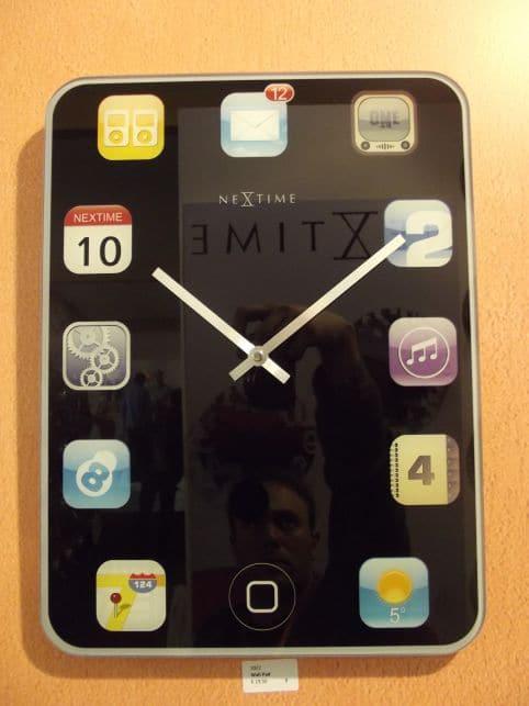 Horloges design : WallPad horloge Paolo Renna