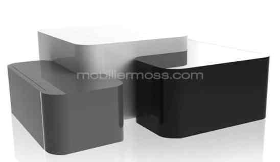 table basse design laquée
