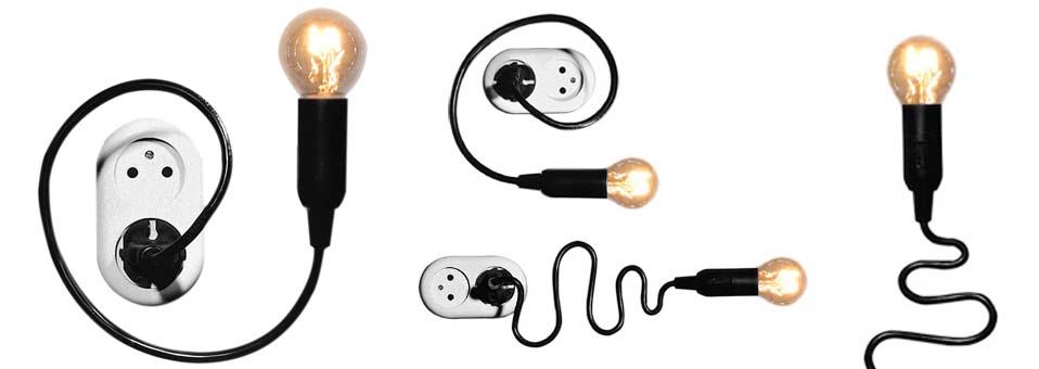 Watt lamp lampe flexible Henk Stallinga