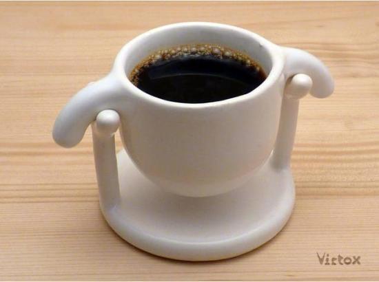 Tasses design -La tasse à caféHangover deVirtox