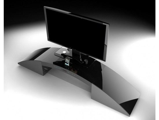 meuble TV avec home cinéma intégré