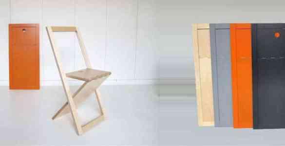 WoodMood chaise pliante Mathieu Camillieri