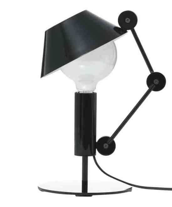 La lampe de table originale Mr Light short de Javier Mariscal