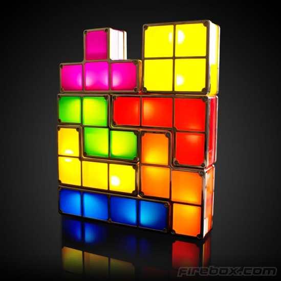 La lampe originale Tetris