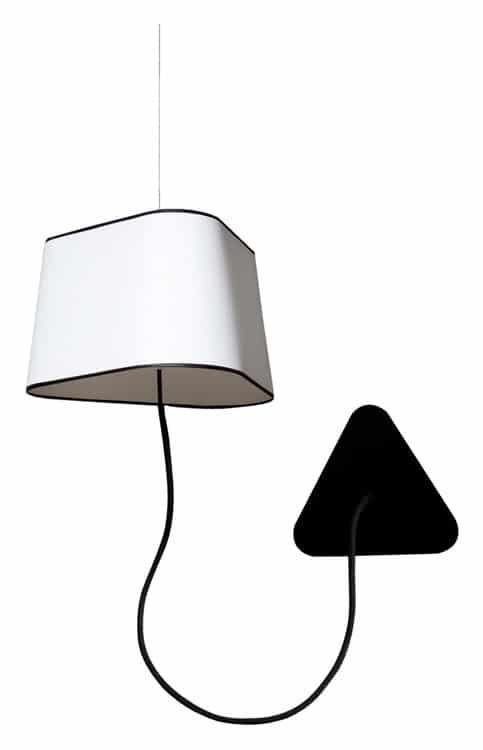 Lampes design -L'applique suspendue Petit Nuage de Hervé Langlais 1