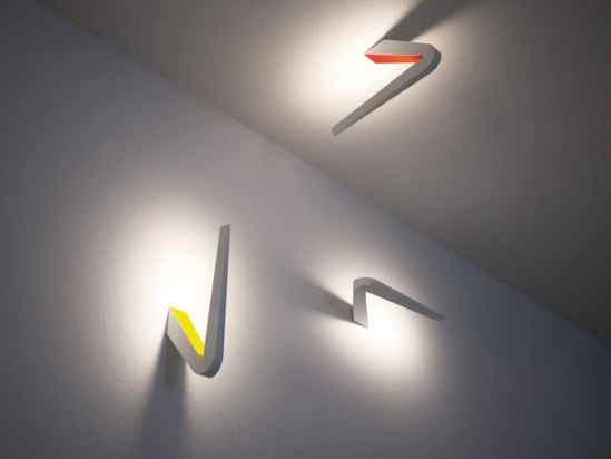 Lampes design -L'applique Tick W0 by Dante Donegani et Giovanni Lauda