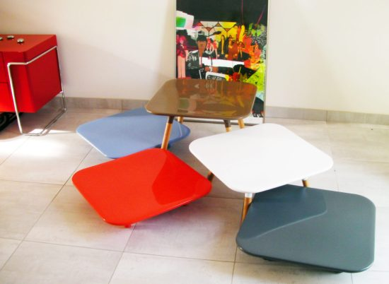 Tables basses originales - Marguerite de Eric Berthes