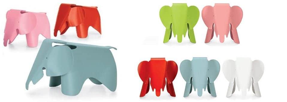 tabouret Elephant Charles et Ray Eames