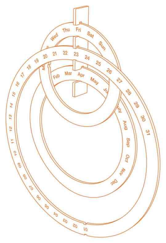 calendrier Sebastien Bergne