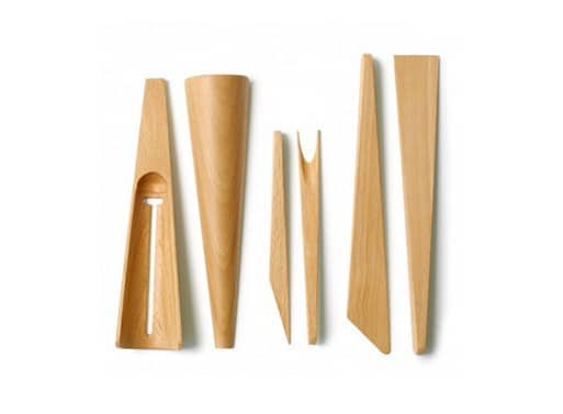 Couverts design - Les couverts de service Scoop, Stab and Spread by Karl Zahn