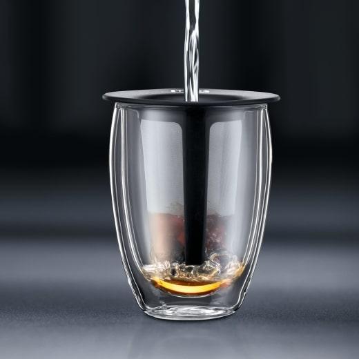 Tea for one verre infuseur à thé