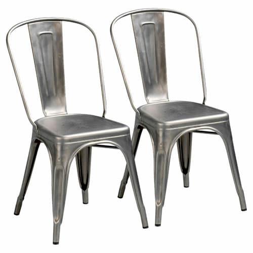 La chaise design Modèle A Tolix de Xavier Pauchard 1