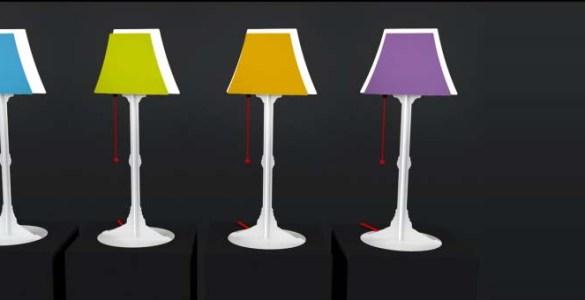 Luxia Junior lampe magnétique personnalisable
