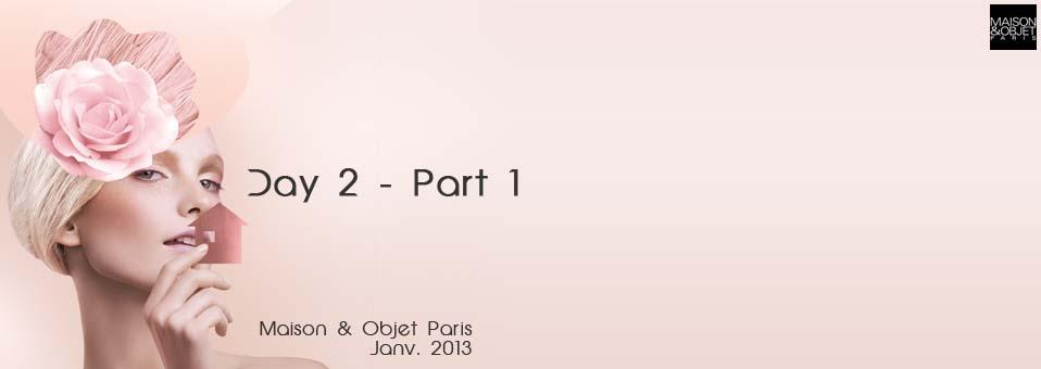 Maison & Objet Janvier 2013