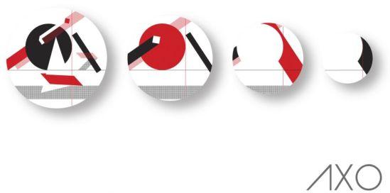 Assiette design : Les assiettes Axo by Non Sans Raison