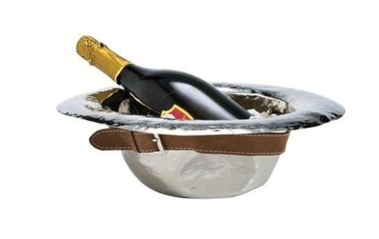 Seau à glace design :le seau à champagne Hat