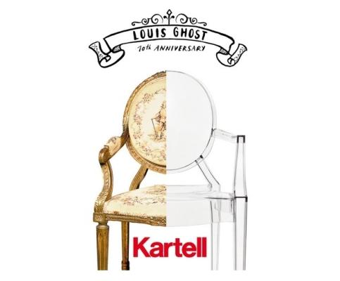 Fauteuils design - Le fauteuil Louis Ghost en édition collector pour ses 10 ans