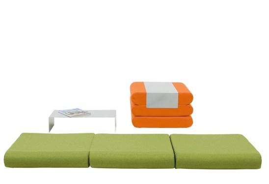 Pouf design : le pouf Bingo by Michiel Van Der Kley