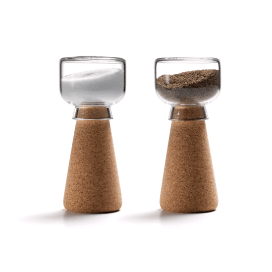 La salière design Cork by Oki Sato