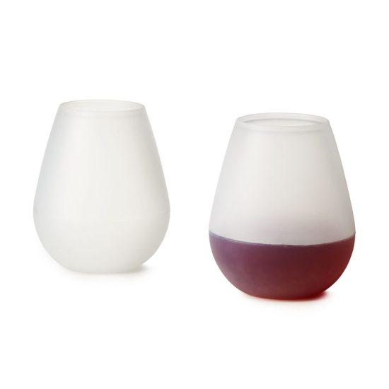 Le verre à vin en silicone