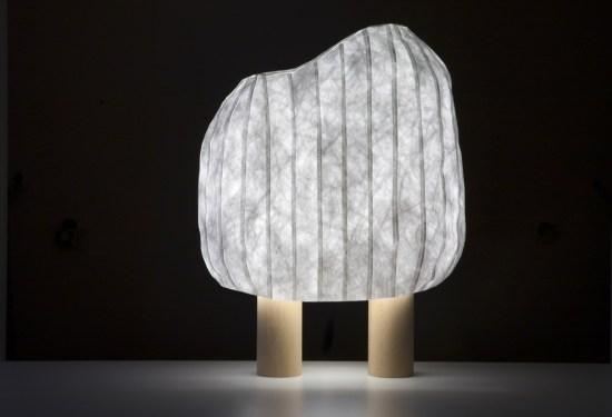 lampe foret illuminée