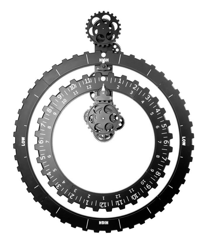 Horloges design : l'horloge à engrenages by Manta Design