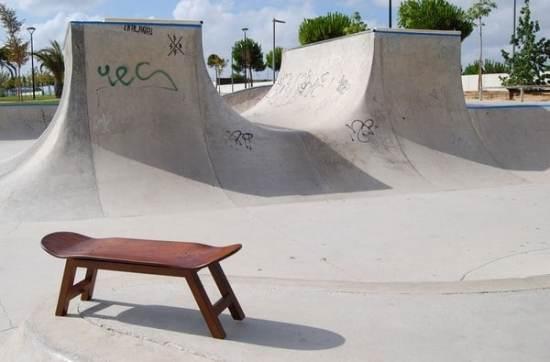 Banc design - Le banc Skate Nollie Flip